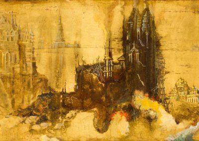 L'incendie de Troie II (coll.part)